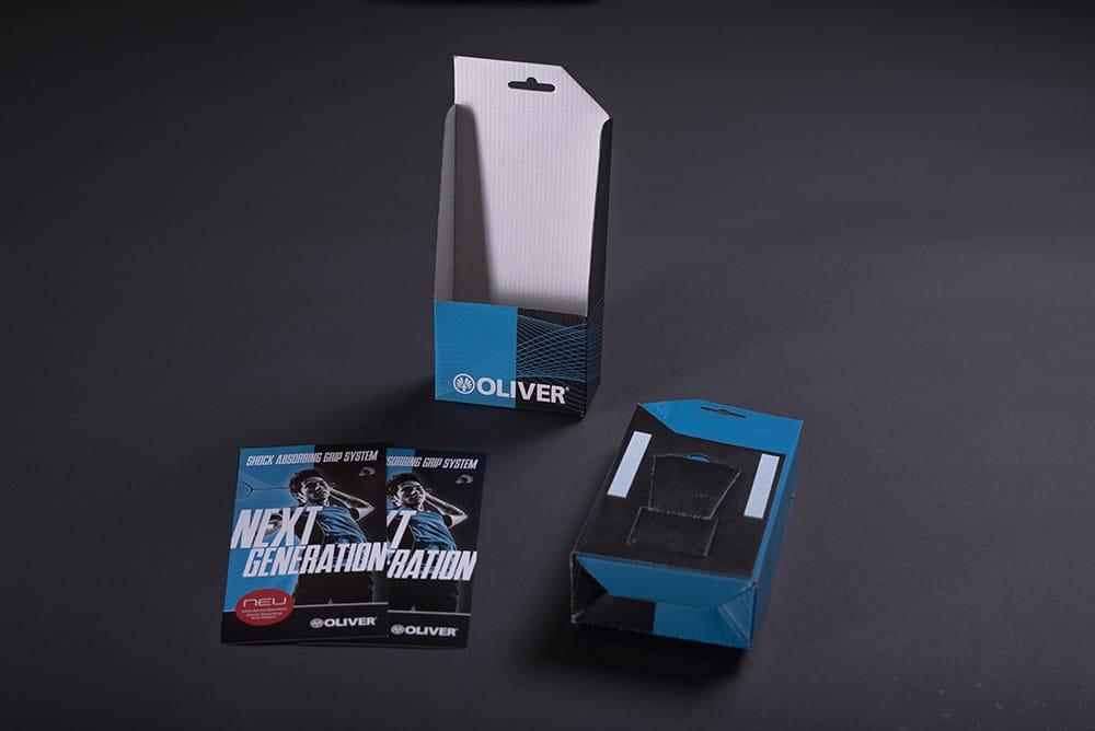 Kartonage und Verpackung bedruckt für Flyer