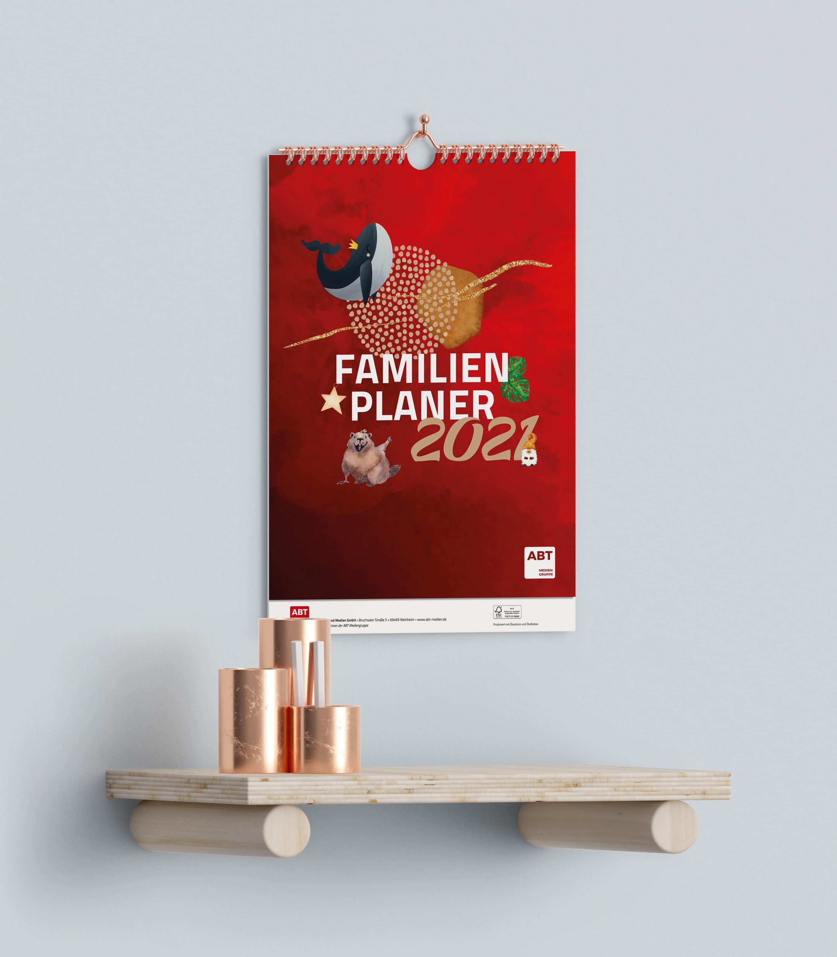 Kalender für 2021 in Ihrem Corporate Design